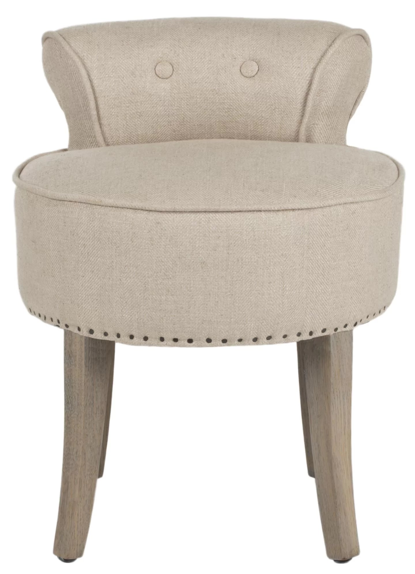 Tufted Vanity Chair Amel Vanity Stool