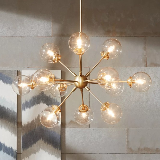 Benites 12 Light Sputnik Chandelier