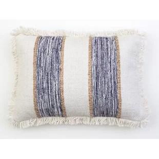 modern blue orange throw pillows