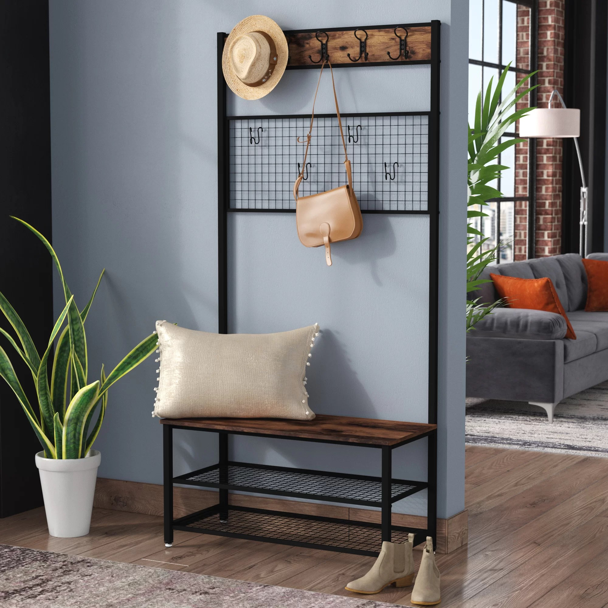 Williston Forge Garderobe Perry Bewertungen Wayfair De