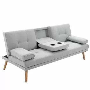 zenobia 3 seater clic clac sofa bed