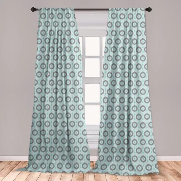 seafoam curtain
