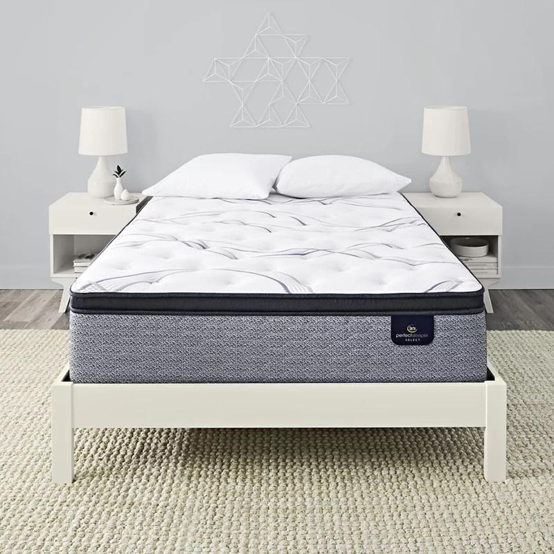 perfect sleeper 14 firm pillow top hybrid mattress