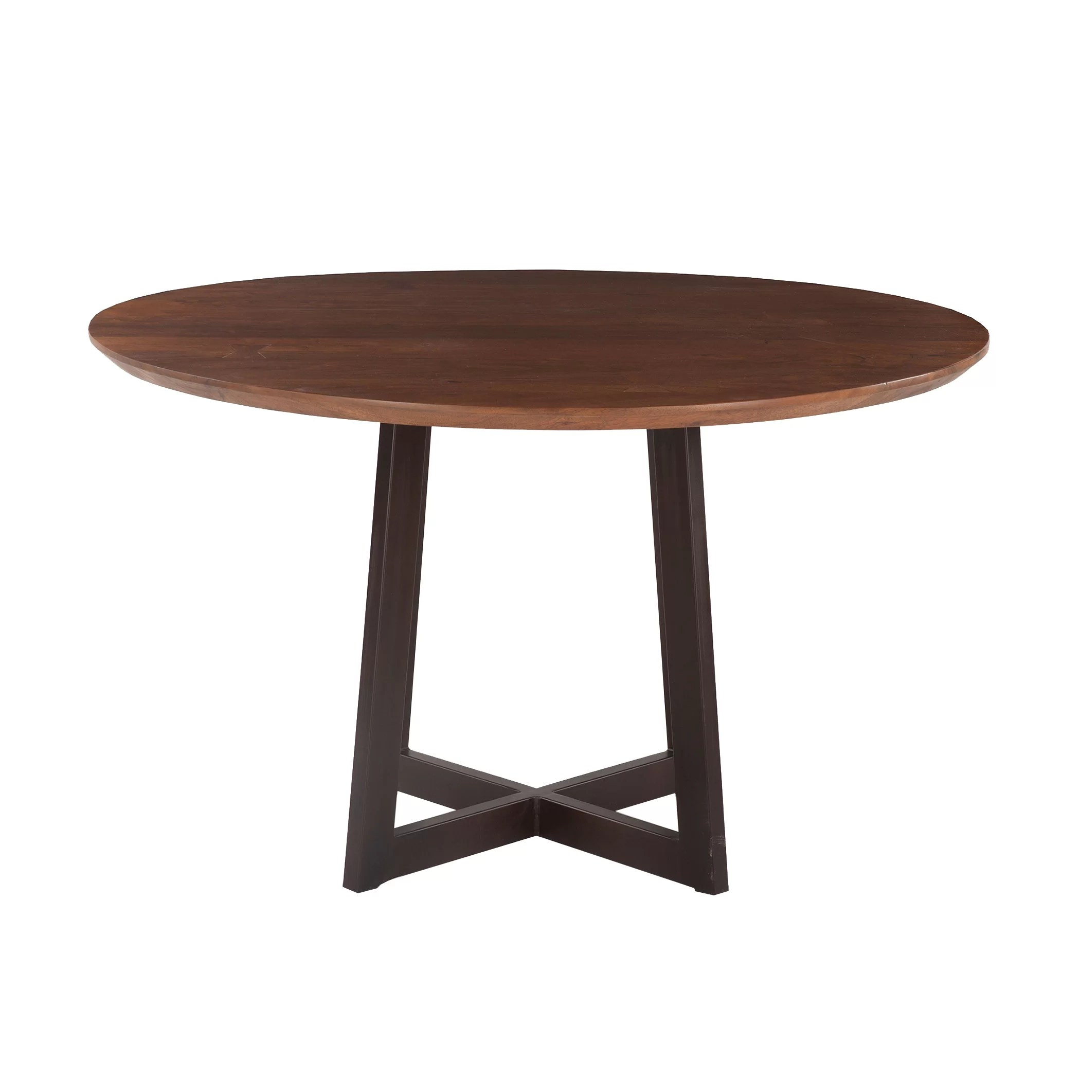 live edge round kitchen dining tables