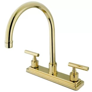 brass faucet kitchen lighting in modern contemporary brushed faucets allmodern quickview polished chrome