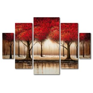 canvas paintings of trees