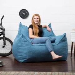 Foam Bean Bag Chair Memory Butterfly Chairs You Ll Love Wayfair Quickview