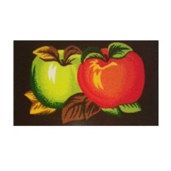 Apple Kitchen Rugs Bronze Pull Down Faucet Wayfair Finnley Mix Apples Mat