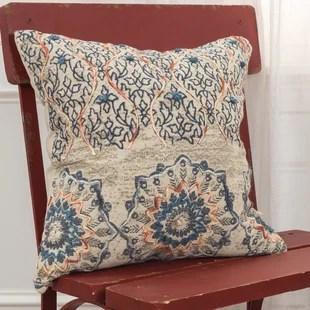 nevan square cotton pillow cover insert
