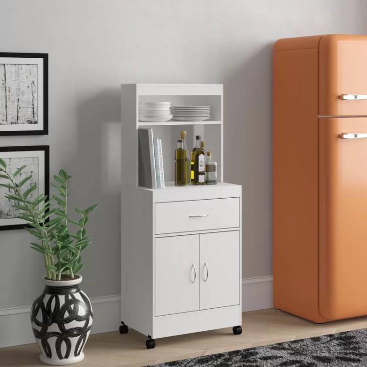 Latitude Run Blandy 54 Kitchen Pantry Reviews Wayfair