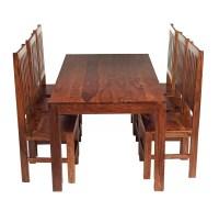 Prestington Peyton Dining Set with 6 Chairs | Wayfair.co.uk