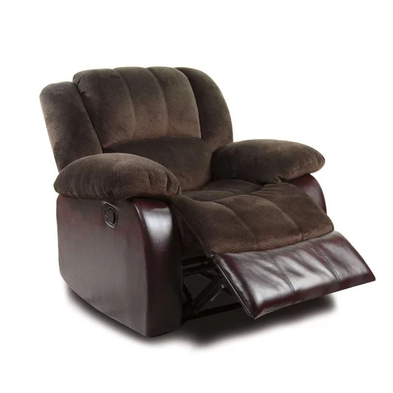 Tufted Manual Recliner