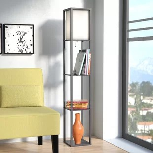 floor lamp living room decor idea lamps you ll love wayfair ca stefanie 62 8 traditional