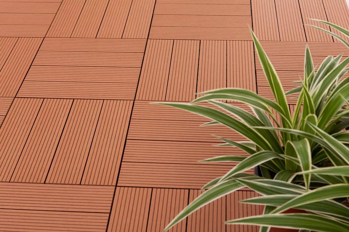 advantages of interlocking deck tiles