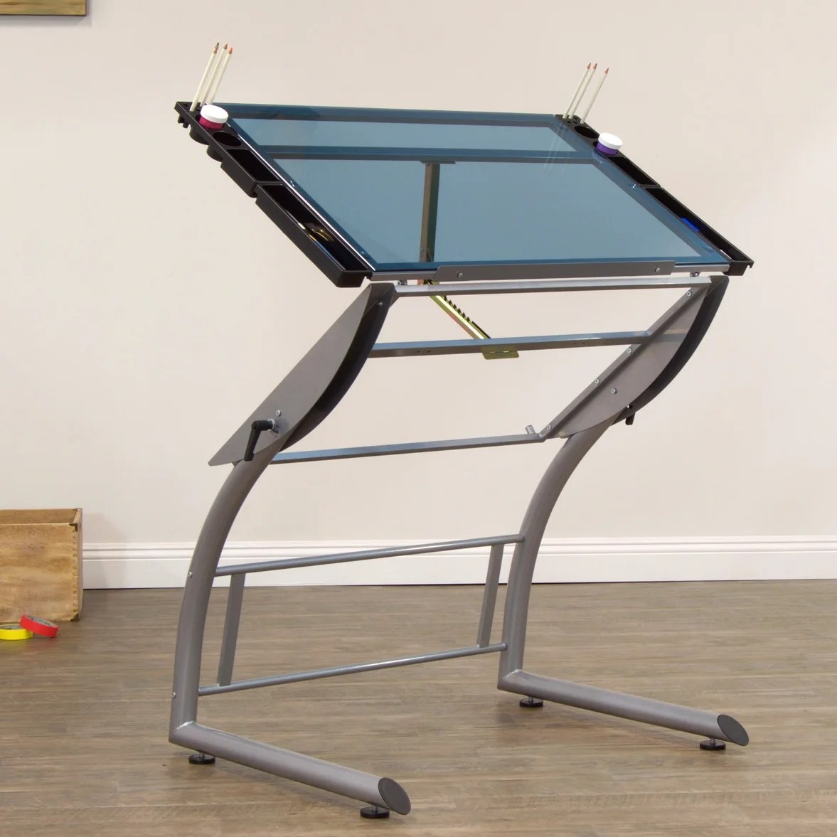 drafting table glass desks you ll love