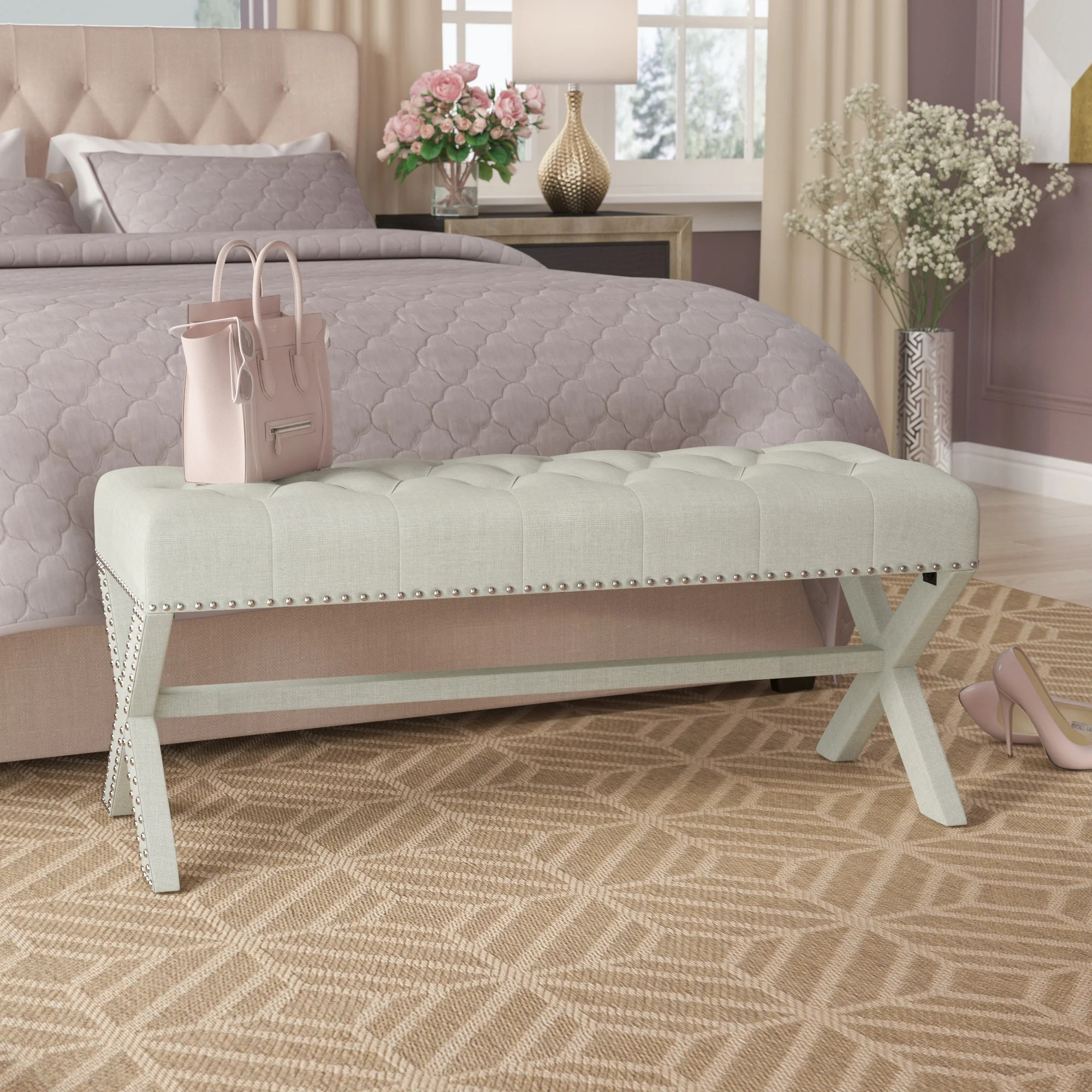 upholstered x benches you ll love in