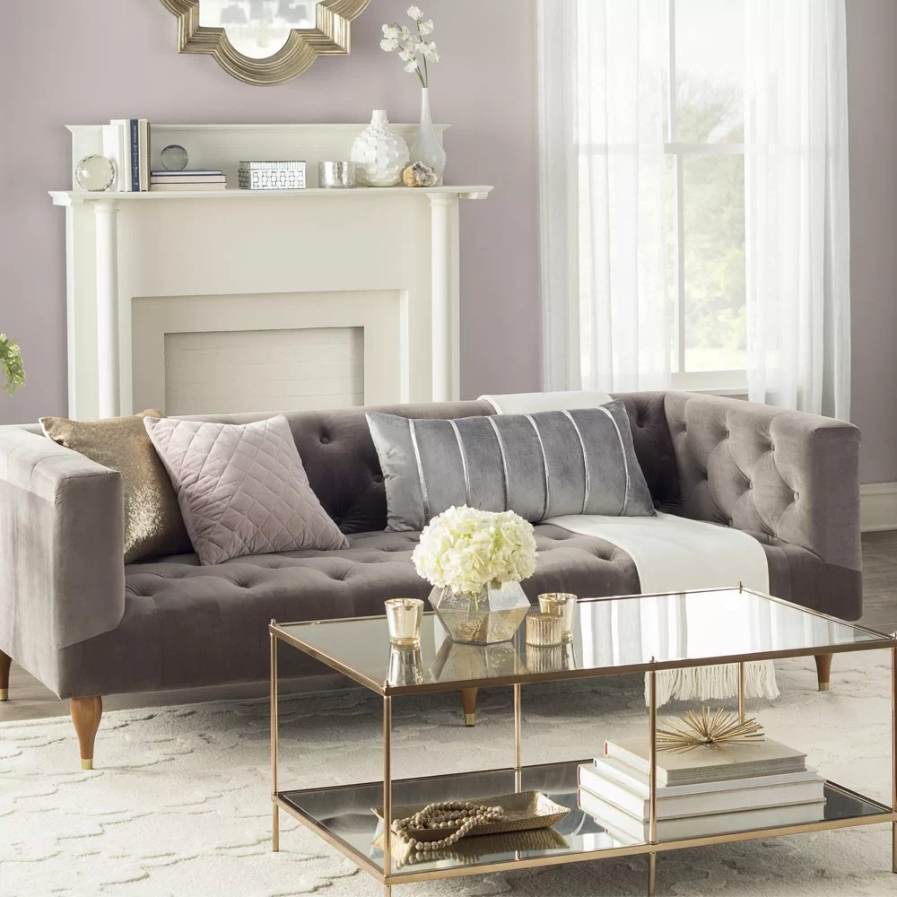 glam sofa set design within reach quality furniture decor joss main