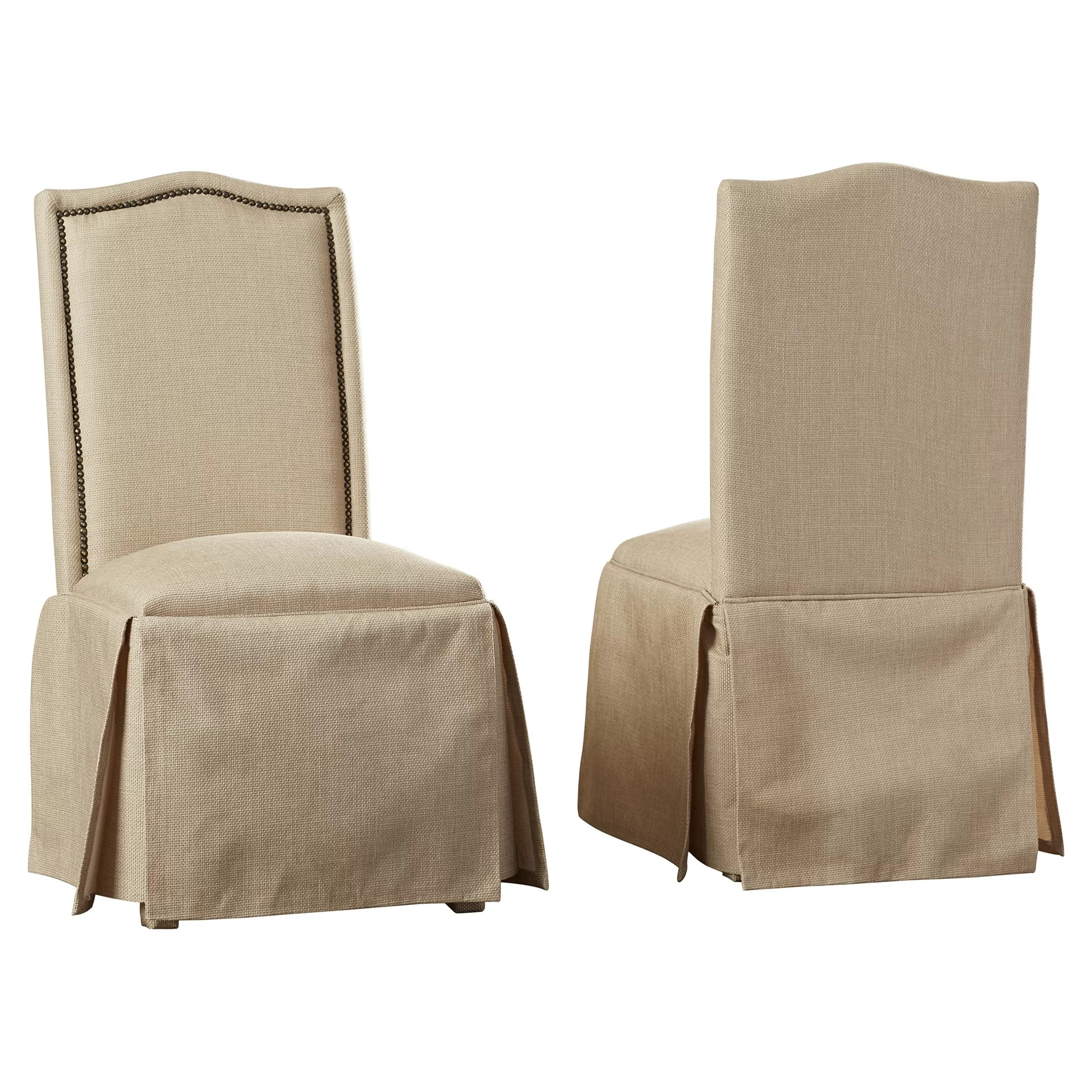 parson chairs wedding chair covers suffolk alison skirted upholstered reviews joss main