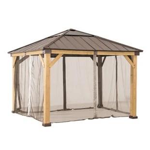 mosquito netting gazebos screen