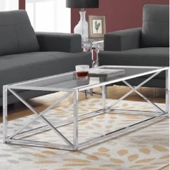 Glass Living Room Table Home Entertainment Smoked Coffee Tables Wayfair Quickview