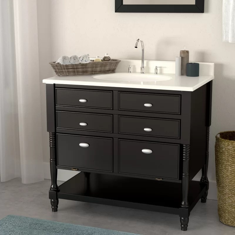 Darby Home Co Barbey 36 Single Bathroom Vanity Set Reviews Wayfair Ca