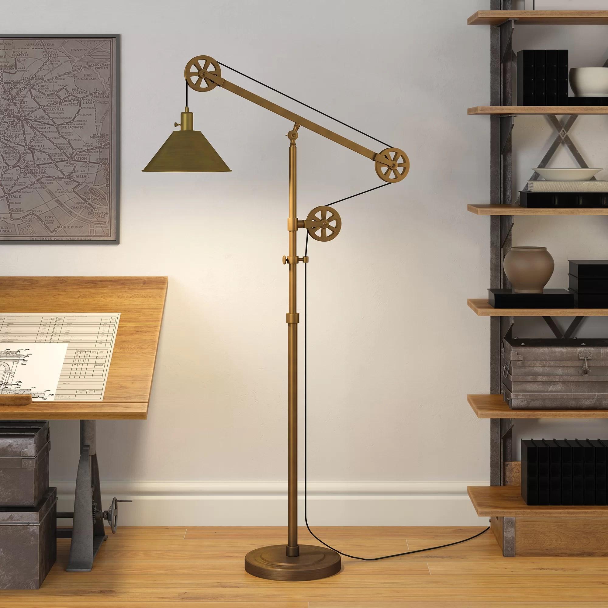 Carlisle 70 Reading Floor Lamp Reviews Birch Lane