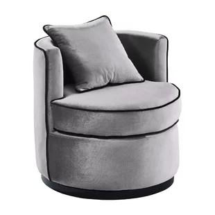 revolving chair rate fur office velvet swivel wayfair hinerman armchair