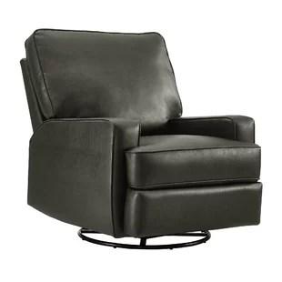 swivel chair inventor big lots outdoor cushions glider recliners you ll love wayfair rashida gliding manual recliner