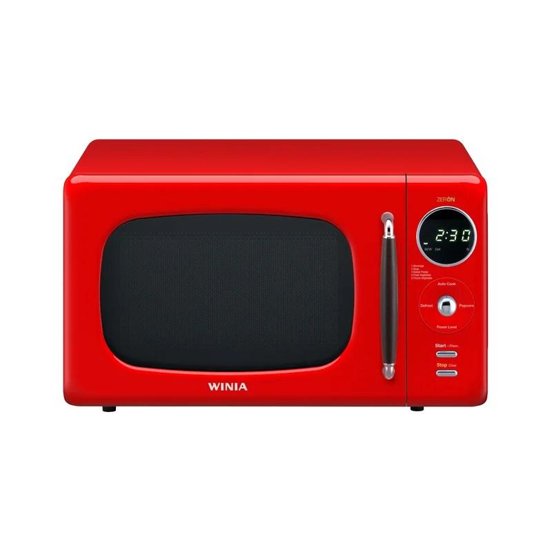 winia 17 6 0 7 cu ft 700 watt countertop microwave