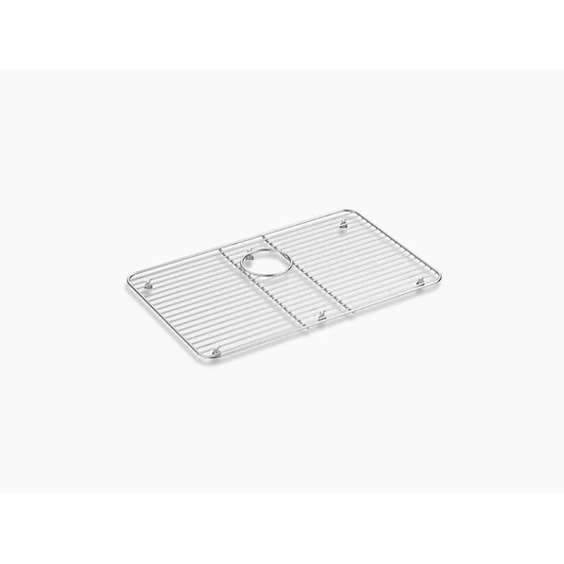 kohler stainless steel sink rack 22 5 x 14 25 for iron tones kitchen sink
