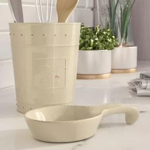 kitchen crock refinishing find utensil crocks for your wayfair quickview