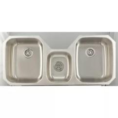 Triple Sink Kitchen Garbage Can Storage Sinks You Ll Love Wayfair Ca 46 9 X 20 Undermount With 18 Gauge