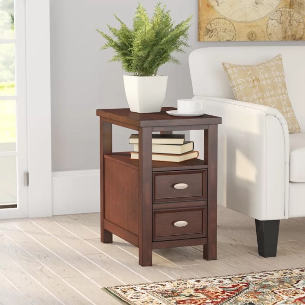 Charlton Home Altitude End Table With Storage &