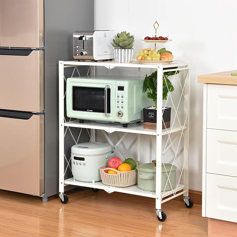 bahena 34 3 h x 27 9 w x 13 6 d foldable storage shelves