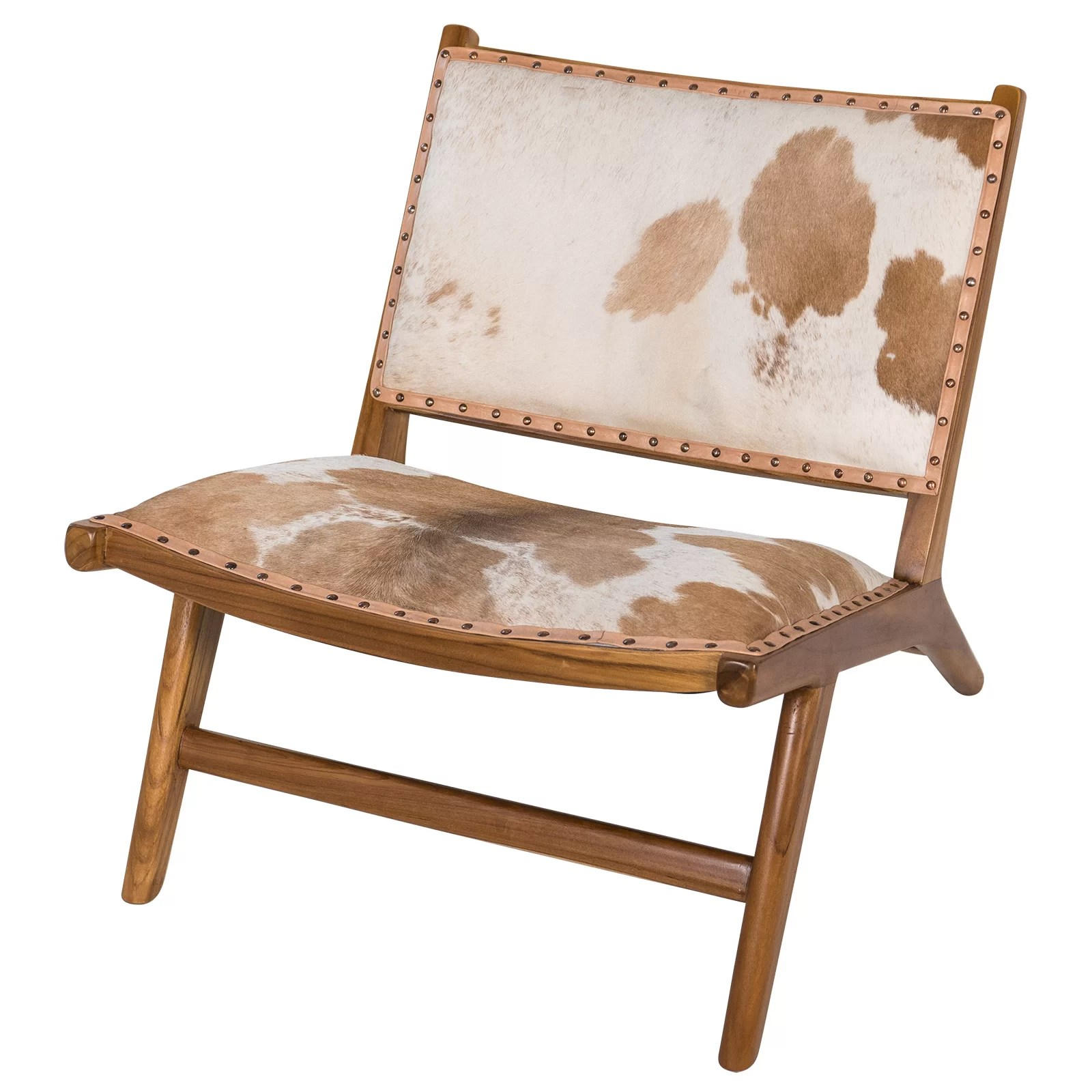 Cow Hide Chair Harley Low Rider Cowhide Guest Chair