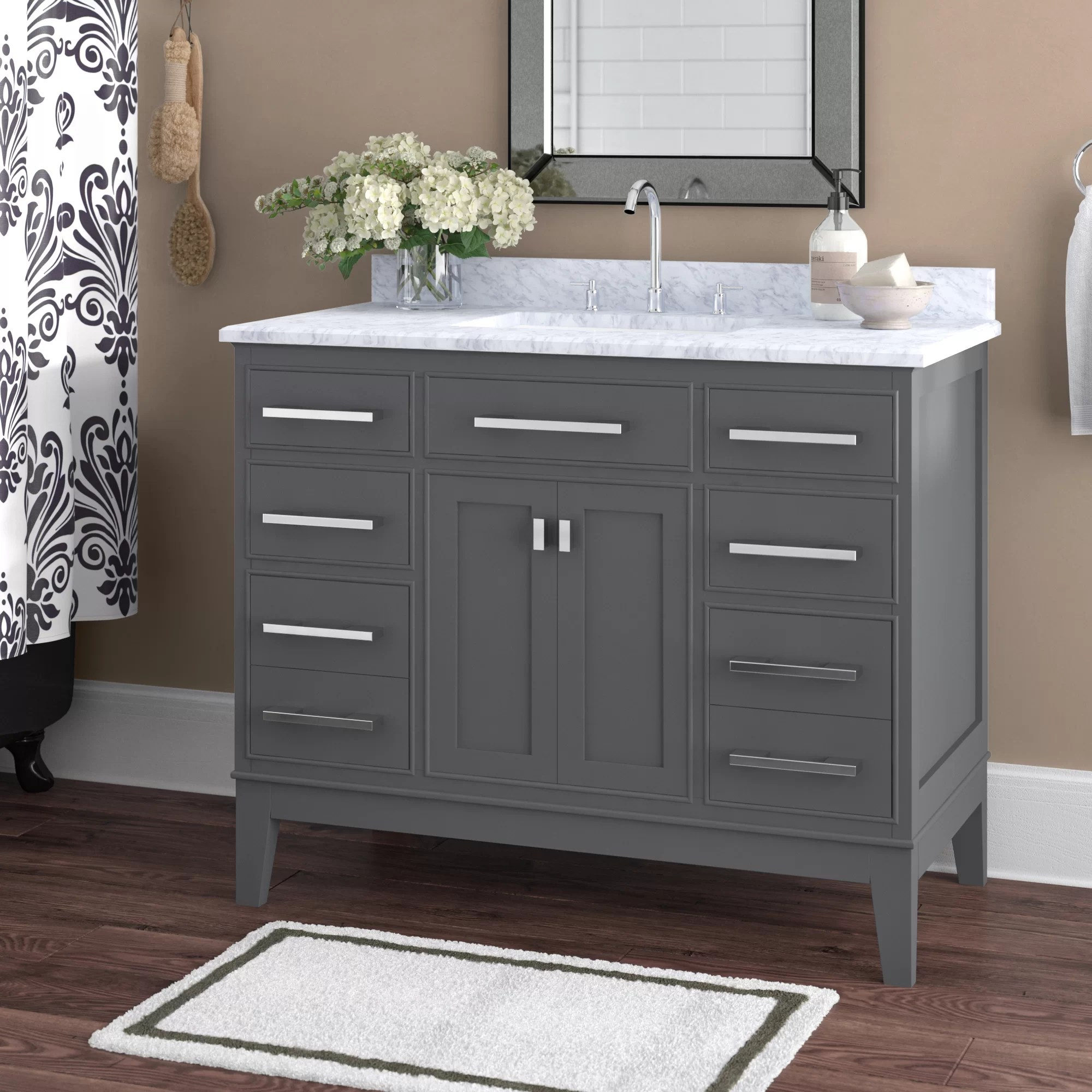Charlton Home Arminta 42 Single Bathroom Vanity Set Reviews Wayfair