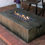 Concrete Fire Pit Tables You Ll Love In 2020 Wayfair