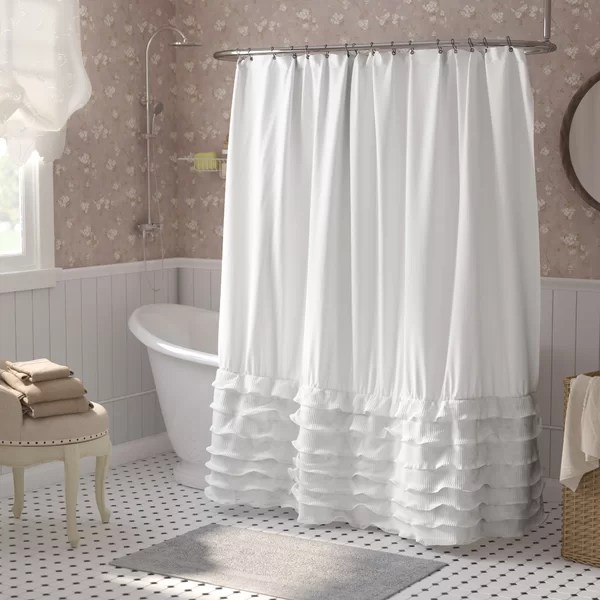 36 x 72 shower stall curtain