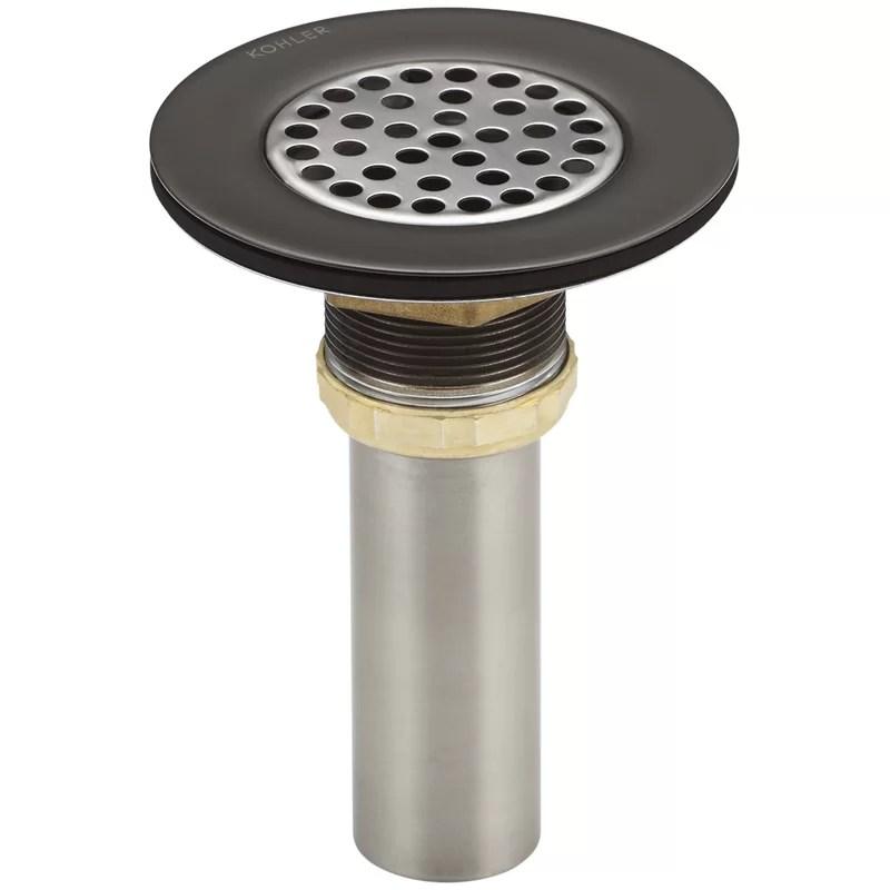 1 5 grid kitchen sink drain