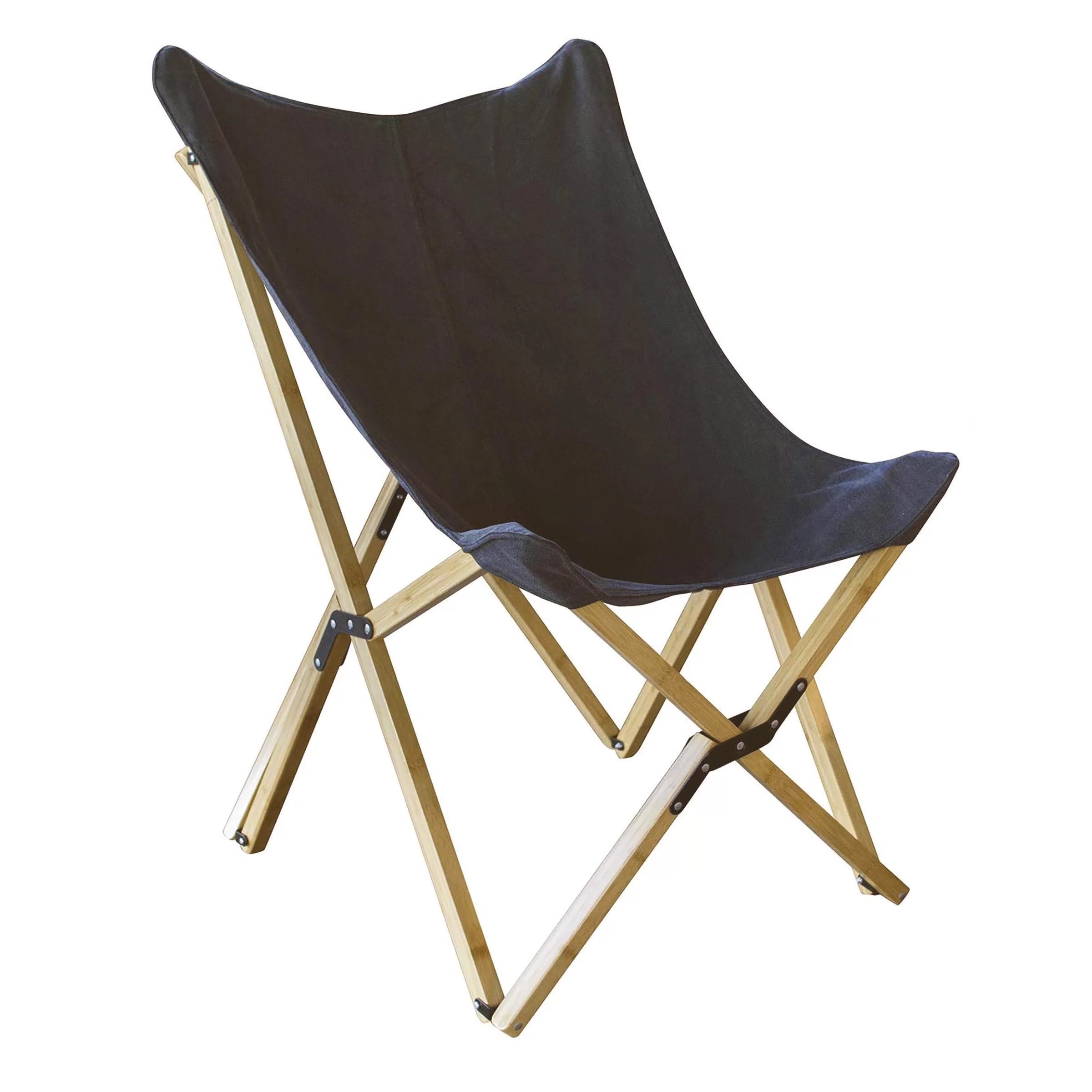 Butterfly Folding Chair Preiss Canvas And Bamboo Butterfly Chair