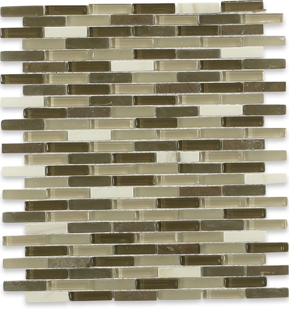 cleveland 0 5 x 1 5 glass mosaic tile