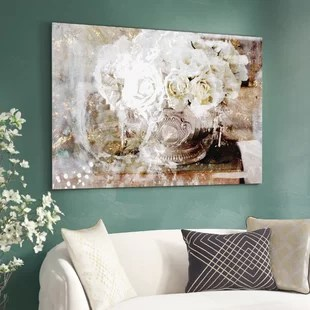 living room art wall corduroy furniture oversized you ll love wayfair quickview