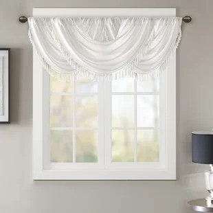 living room window valances decorating ideas black sofa birch lane quickview