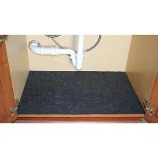 under the sink cabinet mat