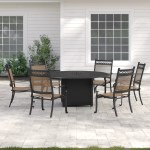 Sol 72 Outdoor Curacao 7 Piece Dining Set With Firepit Reviews