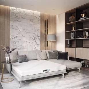 oneal two sided 4 5 plush gel memory foam mattress