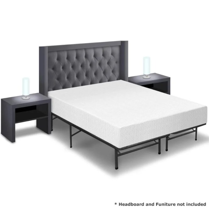 10 Memory Foam Mattress And Bed Frame Set