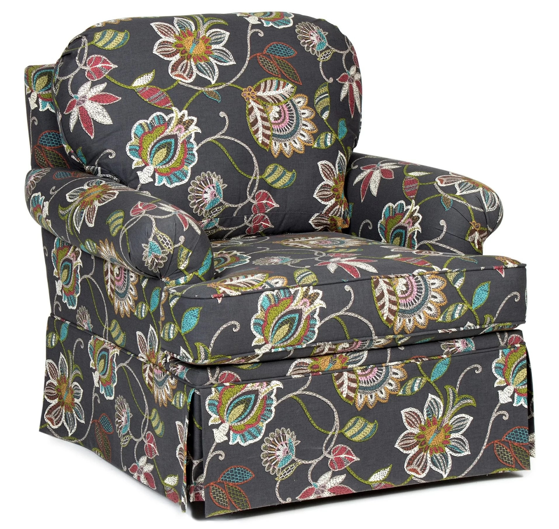 Upholstered Swivel Chairs Harlen Swivel Armchair