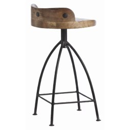 "Henson 25.5"" Swivel Bar Stool"
