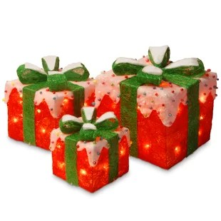 Decorative Christmas Gift Boxes With Lids